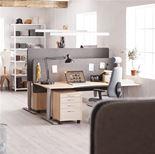 Adeptus Adjustable desk, straight