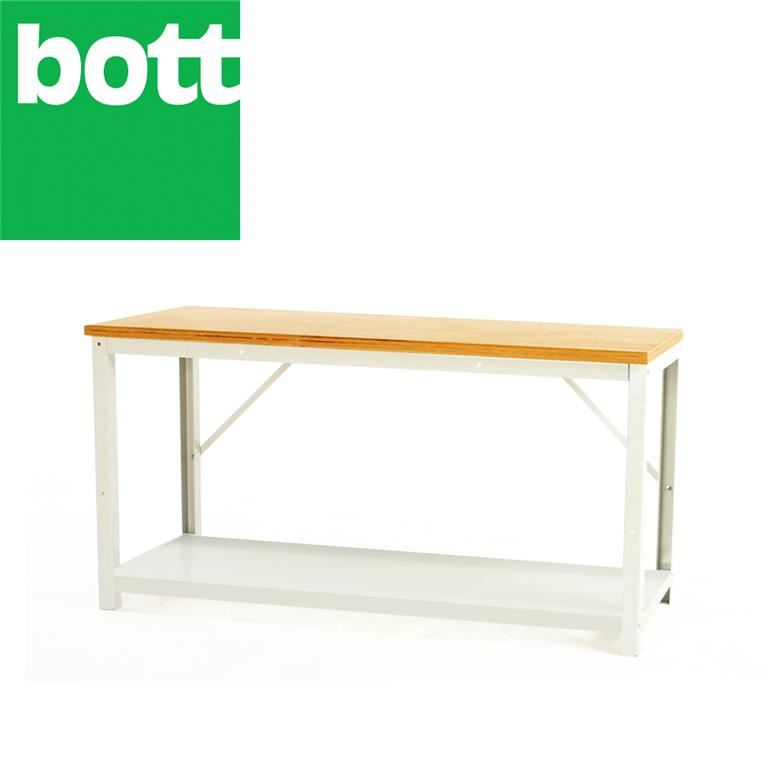 Basic bench with bottom shelf: H780mm