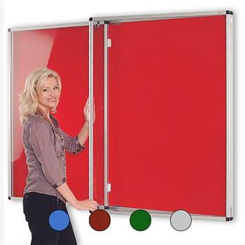 Resist-a-flame® tamperproof notice board