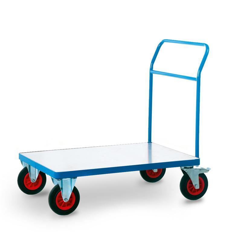 Worker trolley: open end