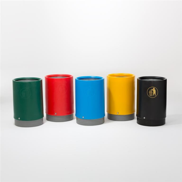 Indoor & outdoor open top litter bins
