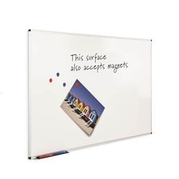 Budget magnetic whiteboard