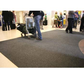 Heavy duty entrance mat: W2000mm