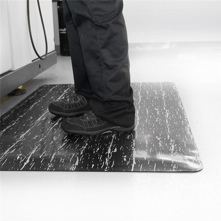 """""""Marble"""" anti-fatigue workplace mat"""