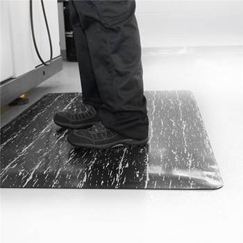 """Marble"" anti-fatigue workplace mat"