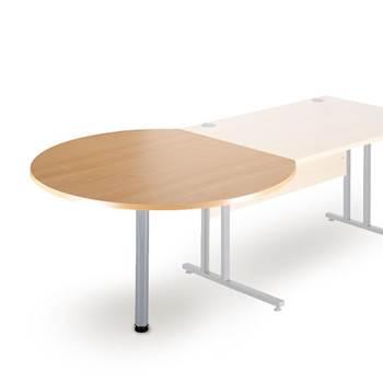 Desk end table