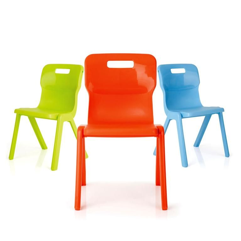 Titan all-in-one plastic chair