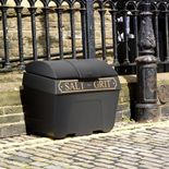 Victorian style salt bins: 200 litre