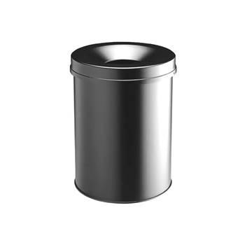 Round safe waste bin: 15L