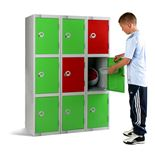 Primary school lockers