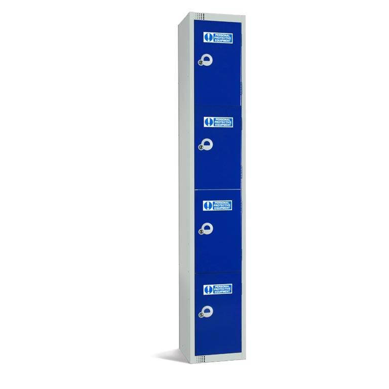 PPE lockers: 4 door