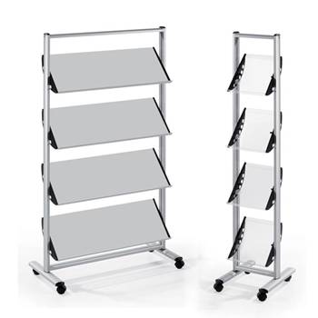 Mobile literature stands