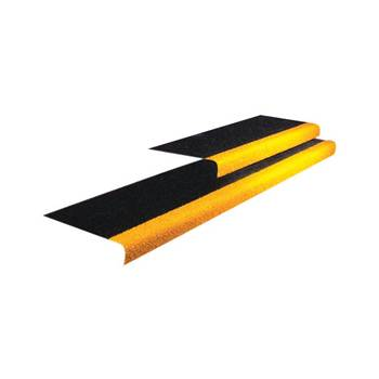 GRiP stair tread: black/yellow