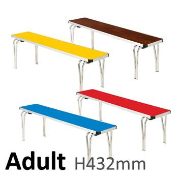 Adult Bench: H432xL1820