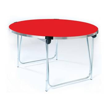 Round folding table: Ø 1220mm