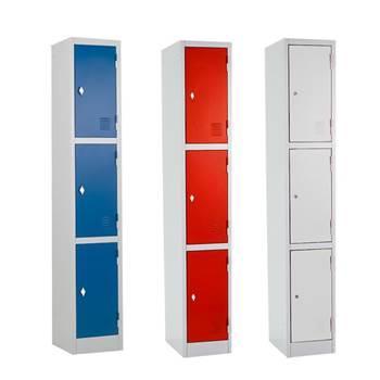 """""""Rapid"""" lockers: 3 doors"""