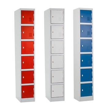 """""""Rapid"""" lockers: 6 doors"""