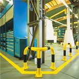 Corner protection machine guards