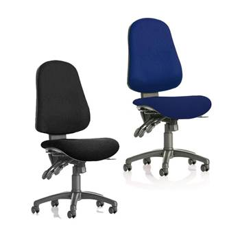 """Air"" lumbar support office chair"
