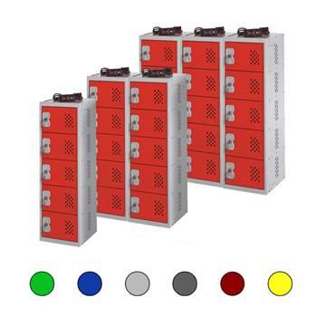In Charge™ lockers: 5 doors