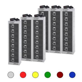 In Charge™ lockers: 8 doors