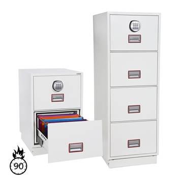 Fireproof filing cabinets