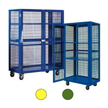 Mobile storage cages