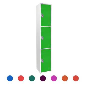 Locker: 3 compartments