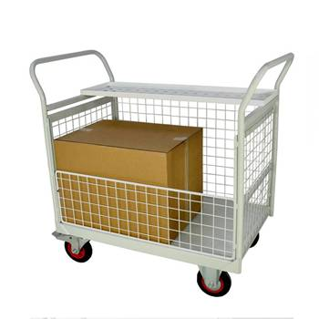 Mailroom trolleys: 3 ½  sides