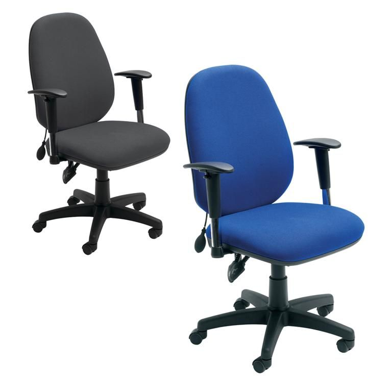 """Sofia"" high-back office chair"