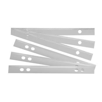 Self-adhesive plan strips: 100 pcs
