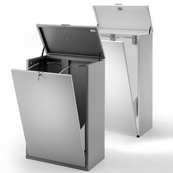 Anti-tilt vertical drawing cabinets