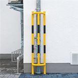 Vertical pipe protectors