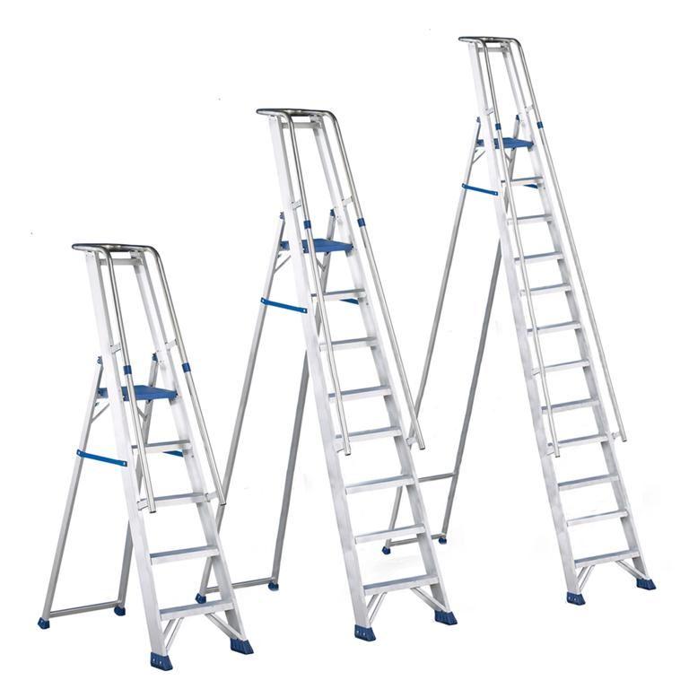 """""""Regina"""" aluminium foldable steps"""