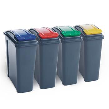 Recycling bins: 25L