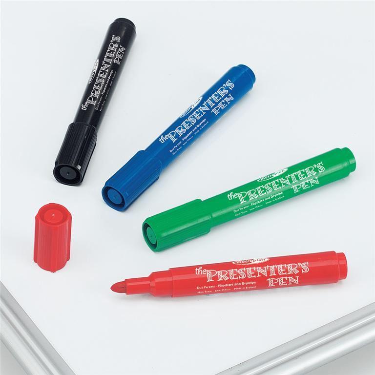 Drywipe whiteboard pens (4 pcs)