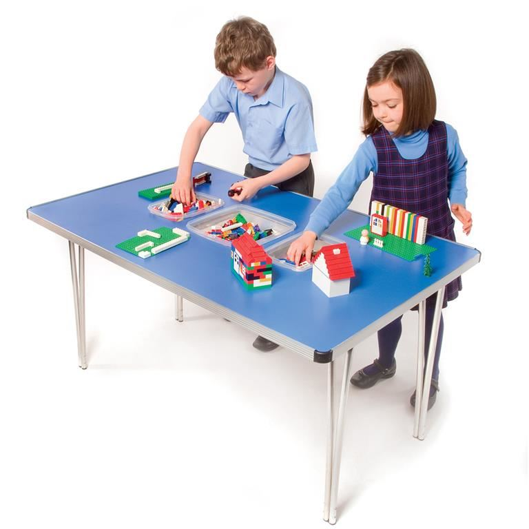 Tub folding tables