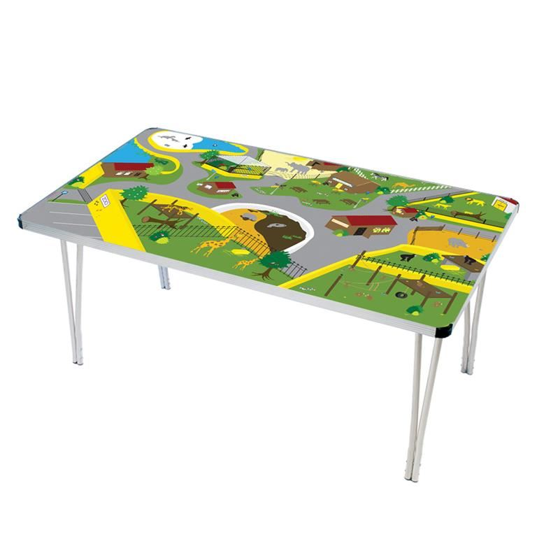 Playtime folding tables