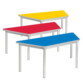 Enviro early years trapezoidal tables