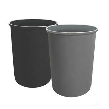 Round recycling bin