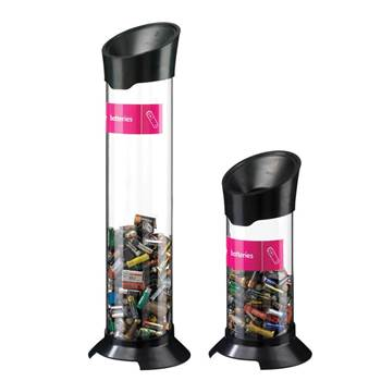 Battery recycling tube