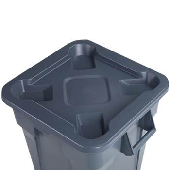 Lid for Heavy duty square waste container