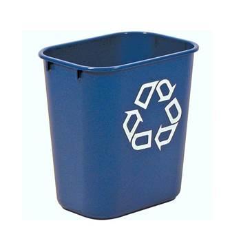 Rectangular recycling bins