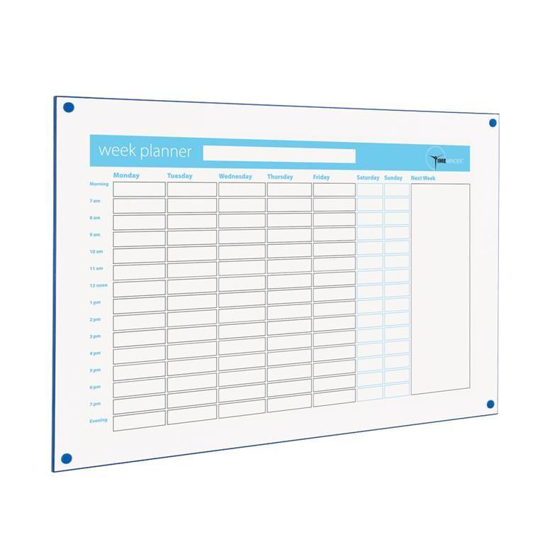 Timeminder® planning boards: week