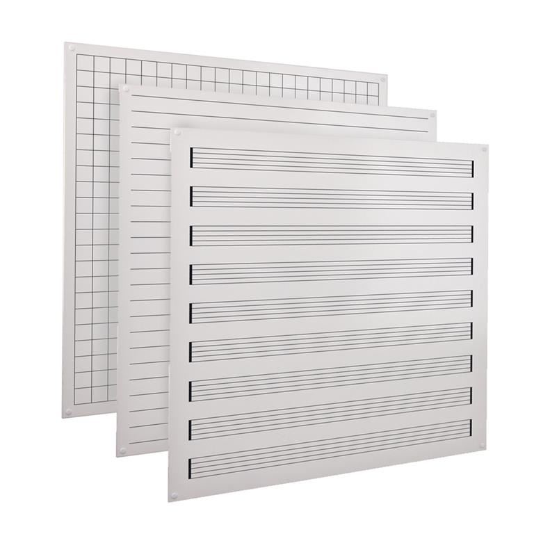 Printed modular whiteboards