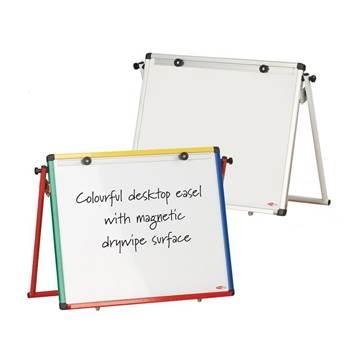 Junior desk whiteboard easel
