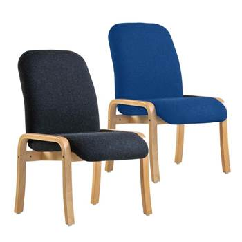 """""""Yealm"""" reception chair: no arms"""