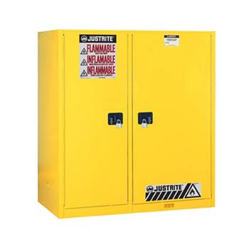 Sure-Grip® EX safety cabinet for drum + flammables