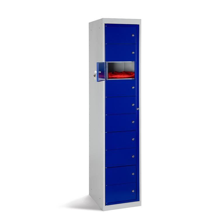 Garment dispenser locker
