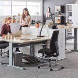 Standing desk, Flexus, straight